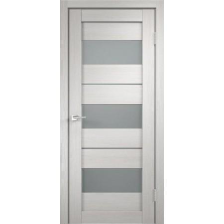 Межкомнатная дверь Экошпон Дуплекс 12 (Дуб Белый)