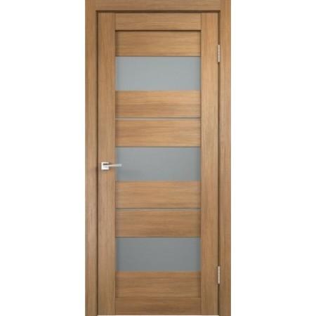 Межкомнатная дверь Экошпон Дуплекс 12 (Дуб Золотой)